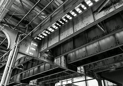 Elevated Train Track Queens NY