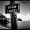 Street sign in Boulder Bay