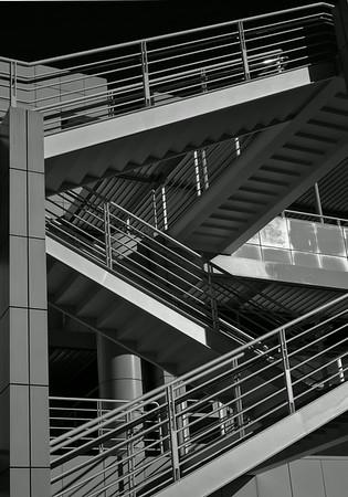 stairs BW 14 x 20
