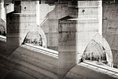 Overflow Wiers- Hoover Dam, AZ