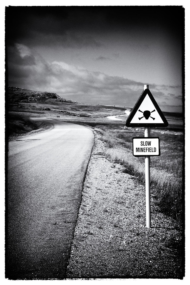 Minefield, Port Stanley, Falkland Islands