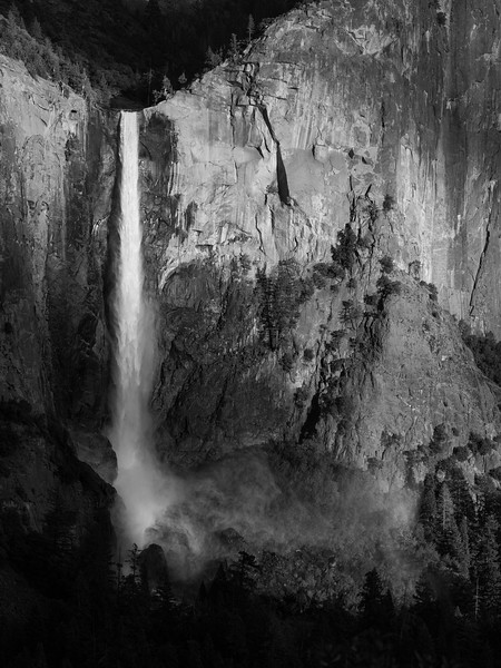 Bridalveil Fall, Late Afternoon