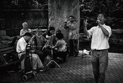Street Musicians in Jing'an Square