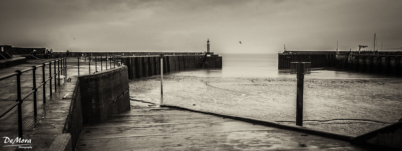 Watchet in the Rain