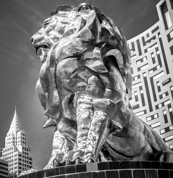 MGM Grand Lion