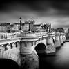 Pont Neuf at Paris in B/W ...