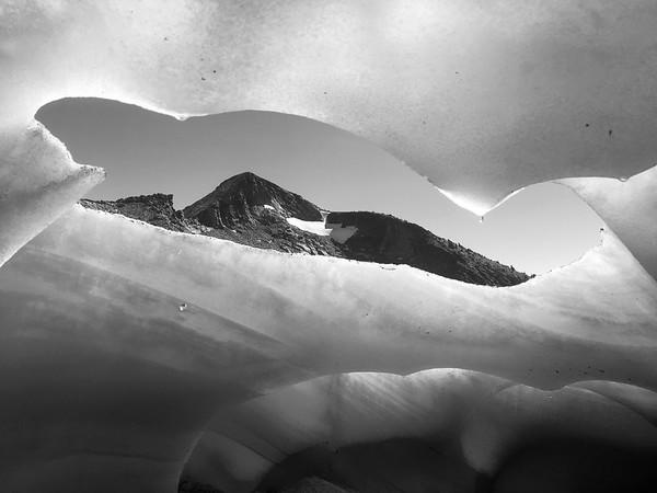 Pyramid Peak and Snow Tunnel