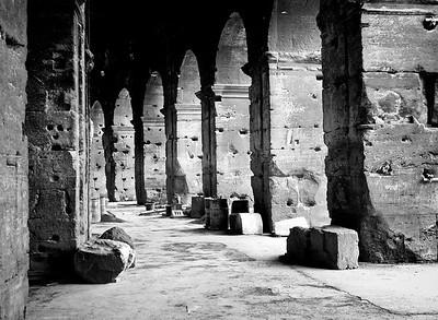 Pocked Columns- Rome, Italy
