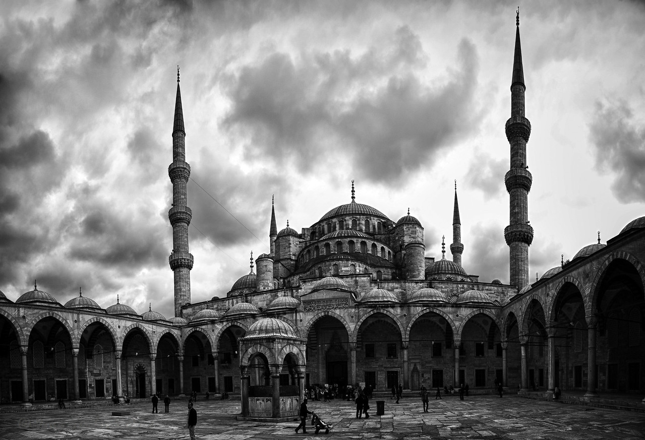 Blue Mosque, Istanbul, Turkey, 2011