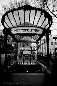 Abbesses, PARIS METRO