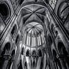 Inside of Cathedral Notre Dame of Senlis