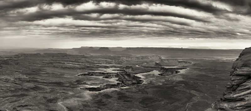 Green River Overlook Panorama, Canyonlands Nat'l Park