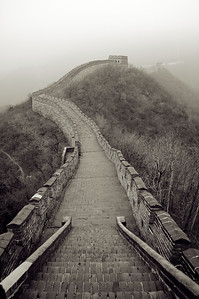 Beijing, Great Wall,Mutianyu, 慕田峪located at Huairou county northeast of Beijing, joins the Juyong Pass in the west and Gubeikou in the east.