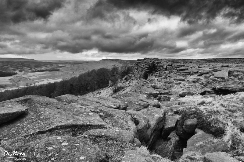 Storm Brewing over Stanage Edge