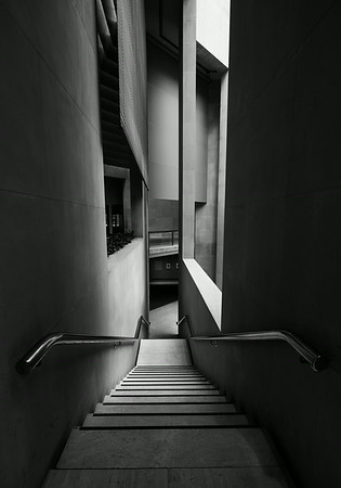 Lehman Pavilion Staircase Metropolitan Museum of art NYC