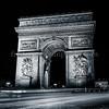 Arc de Triomphe at Paris in B/W