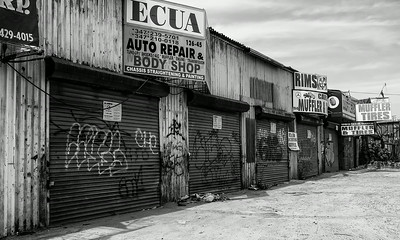 Abandoned Auto Repair Shops Willets Point Queens NY
