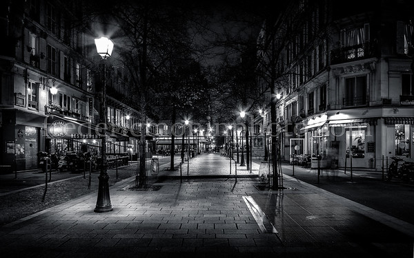 St-Martin street in Paris