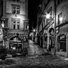 """Montée du Gourguillon"" in the old Lyon in B/W ..."