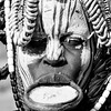 Black and white: Mursi people