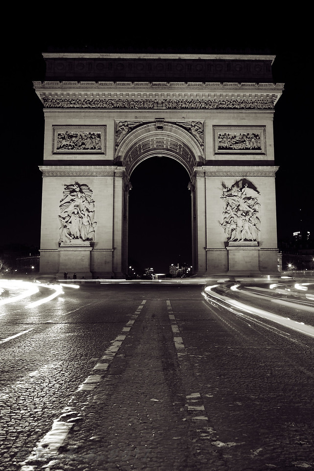Arc de Triomphe de l'Étoile, Paris, France