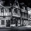 Compiègne by night in B/W II ...