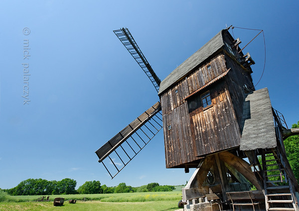 Post mill of Ballstädt