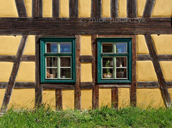 Timber-framed house in Erdmannsdorf.