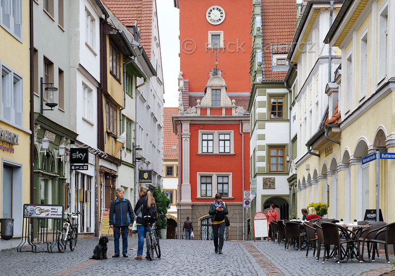 Hünersdorfstrasse in Gotha.