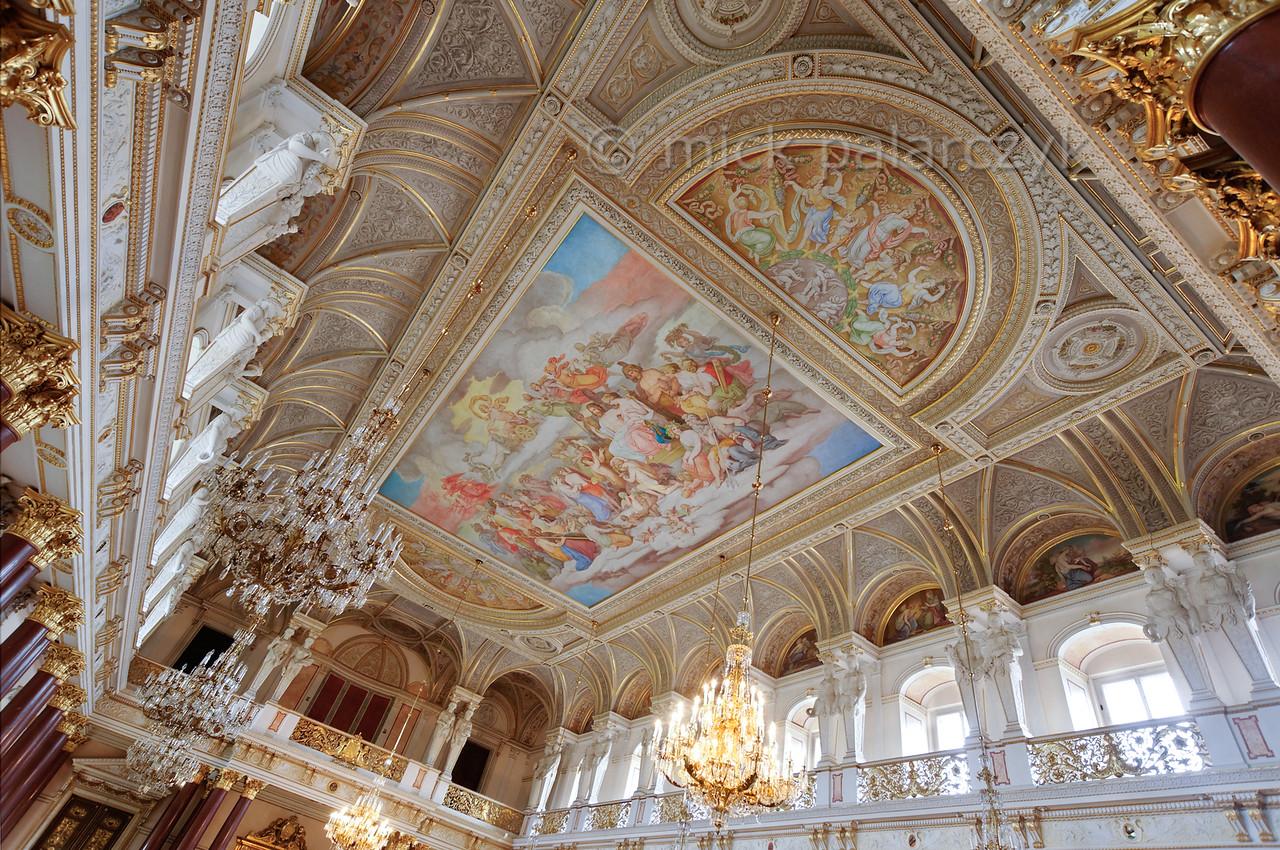 Ballroom in 'Stadtschloss' of Altenburg.