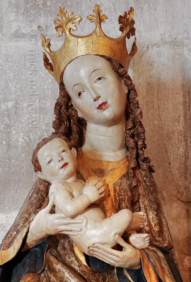 Madonna in Liebfrauenkirche in Arnstadt.