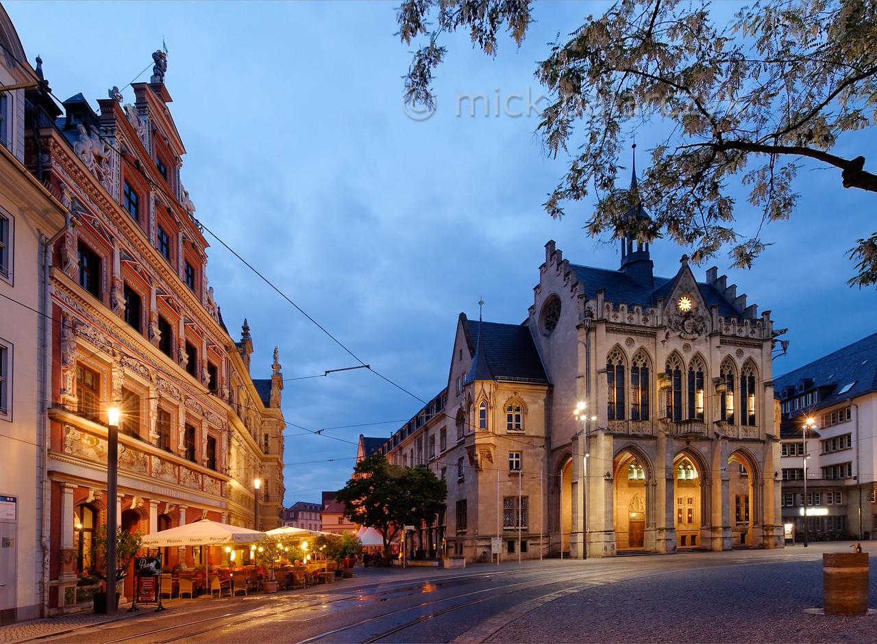 Marketplace in Erfurt.