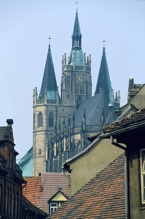Cathedral in Erfurt.