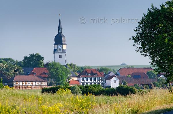View of Apfelstädt.