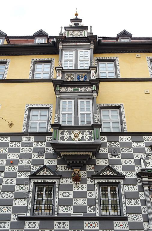 Haus zum Stockfisch in Erfurt.