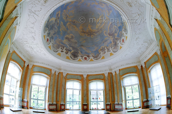 East pavilion in Belvedere Castle near Weimar.