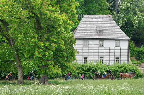 Goethe's Garden House in Weimar.