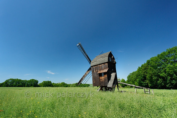 Post mill of Ballstädt.