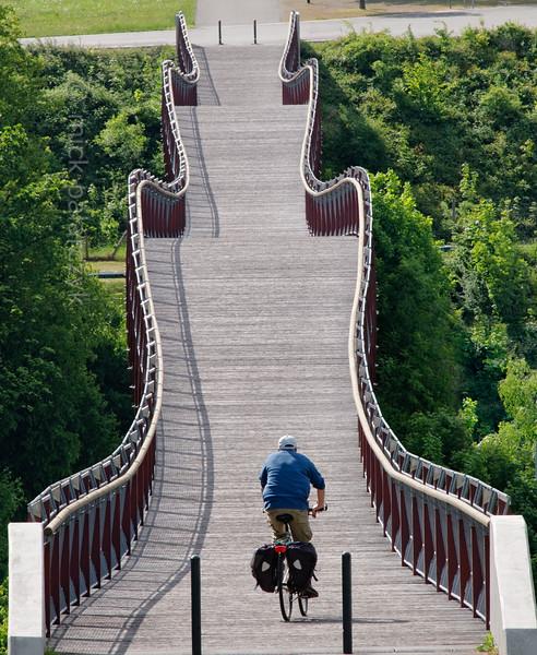 Dragon's Tail Bridge near Ronneburg.