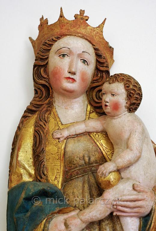 Madonna in the Stadtschloss Museum of Weimar.