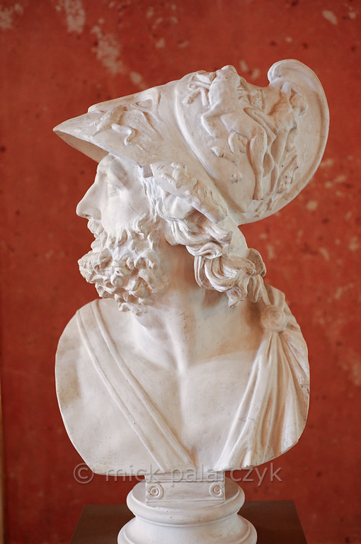 Bust of Menelaus in the Stadtschloss Museum of Weimar.