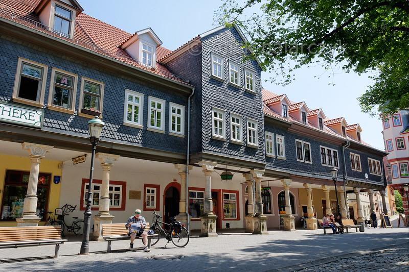 Marketplace in Arnstadt.