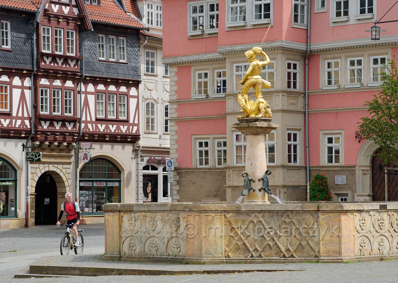 Marketplace in Eisenach.