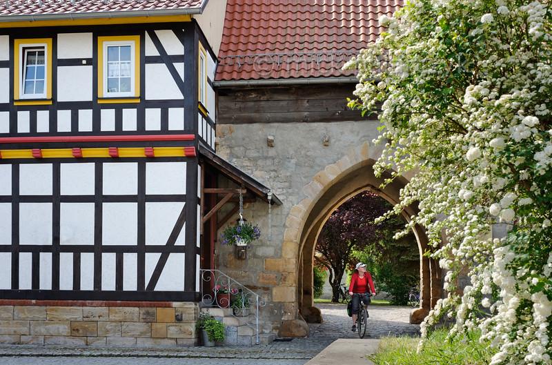 Gate in Mühlberg.