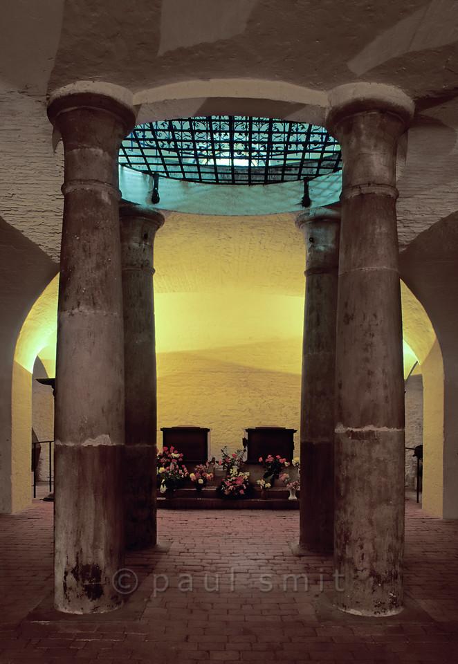 Goethe's and Schiller's tomb in Weimar.