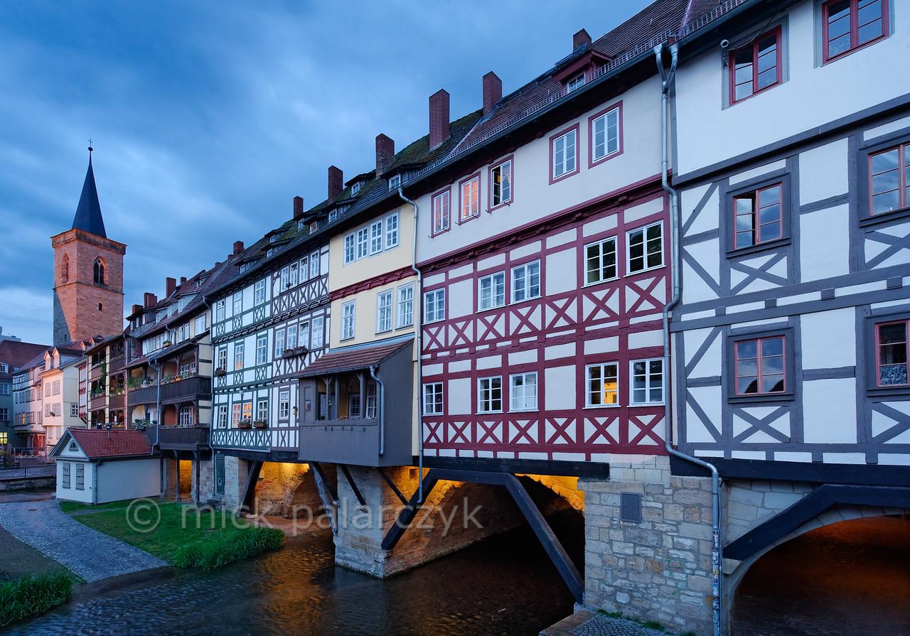 Kramerbrücke in Erfurt.