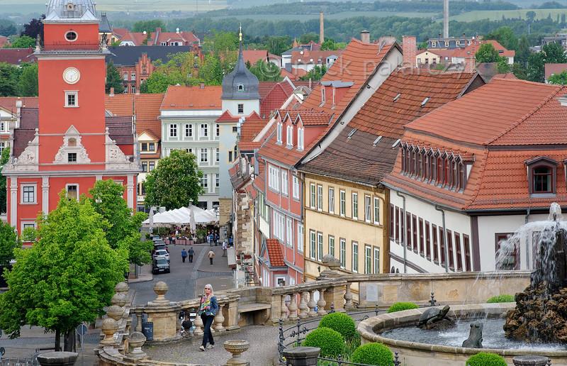 Hauptmarkt in Gotha.