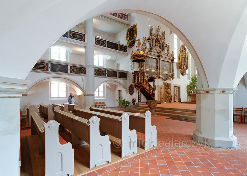 'St Georges's Church in Eisenach.""