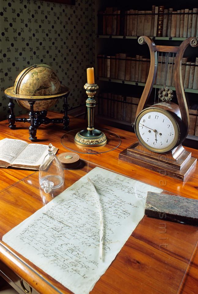 Study in Schiller's House in Weimar.