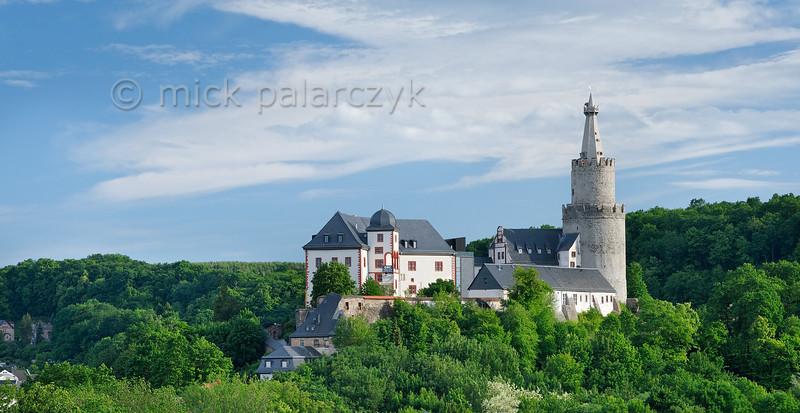 Osterburg Castle in Weida.